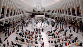 Thoughts on Oculus, the Westfield World Trade Center mall in New York