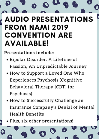 Audio presentations from nami convention