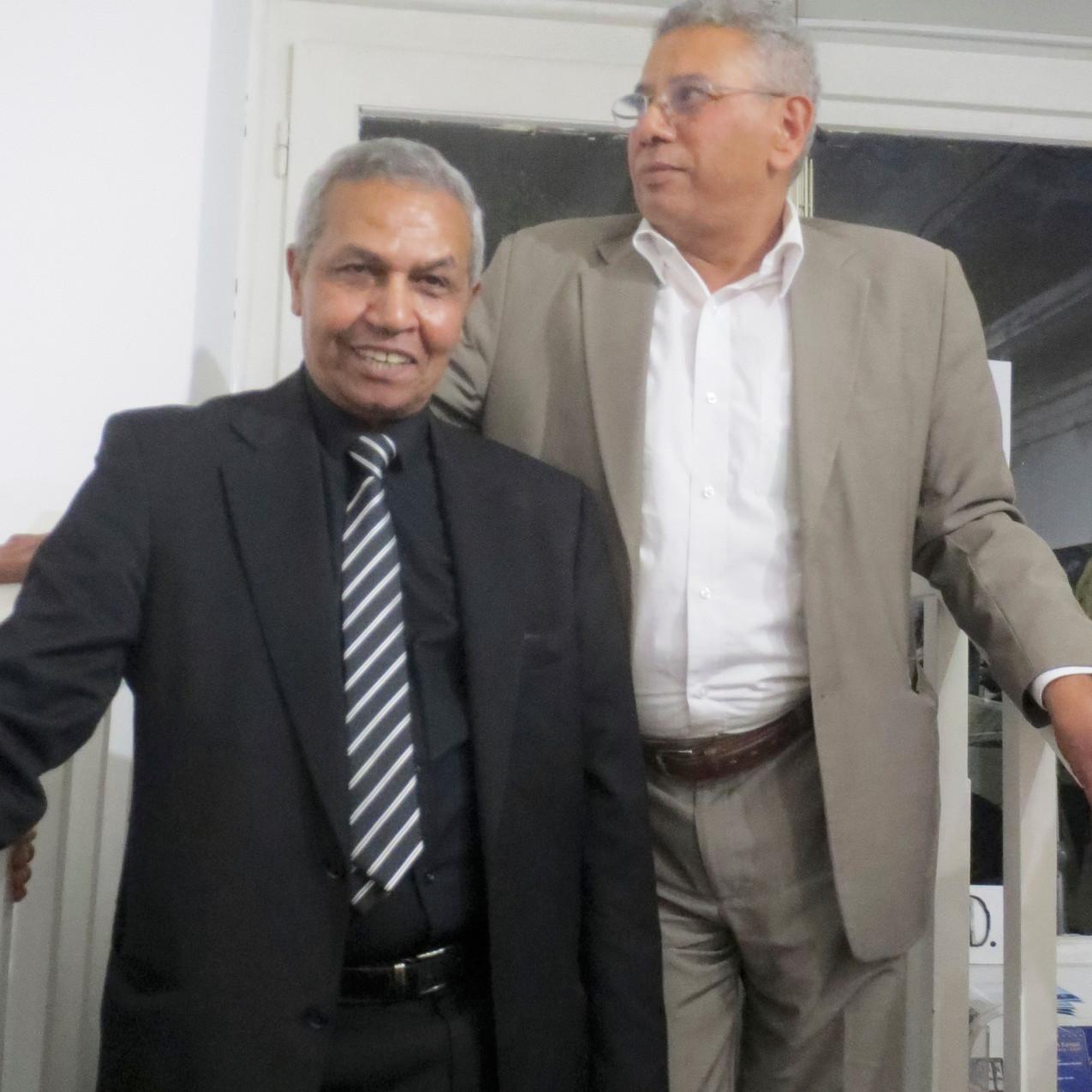 mohamed azzam (l.) & hassan baroud (r.)