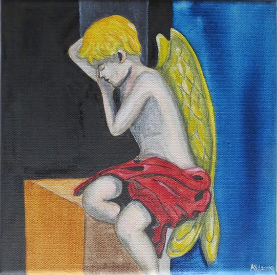 Rastender Engel (Nr. 03)