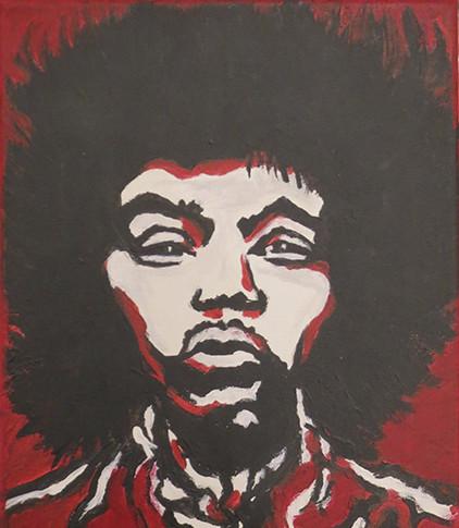 """Jimmy Hendrix"" (Nr. 65)"