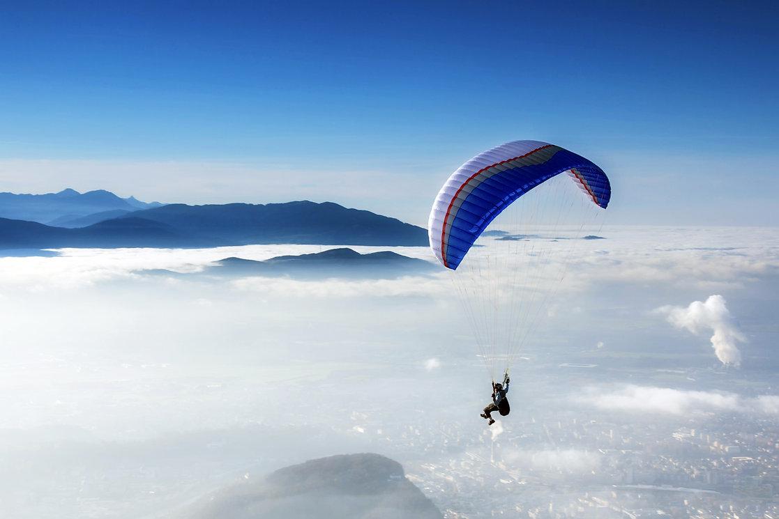 Öffnen Parachute