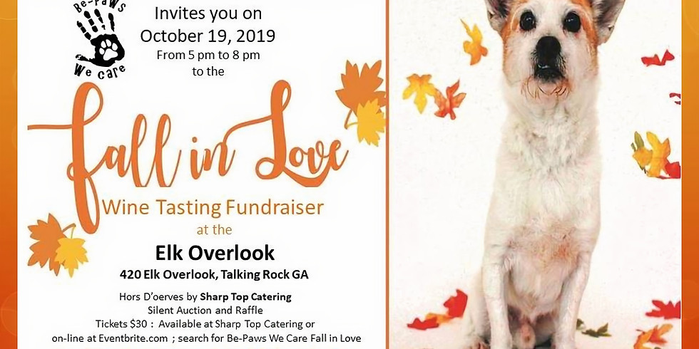 Fall in Love.. Wine Tasting Fundraiser