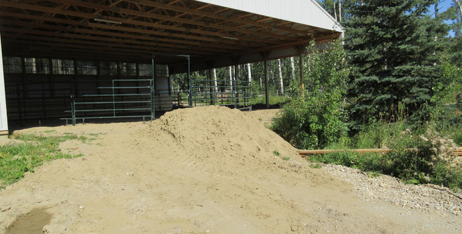 Covered Round Pen