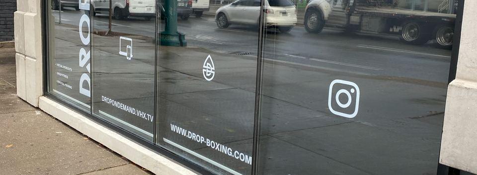 Custom Commercial blinds