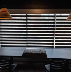 Custom zebra blinds