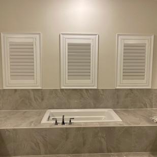 Custom Window shutters by AVA Window fashions