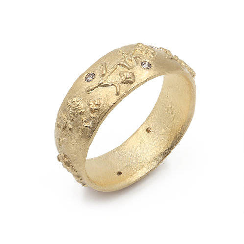 Everlasting Band with Champagne Diamonds