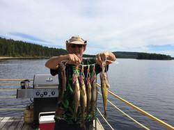 Petite pêche en après-midi