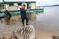 Fier de sa pêche!
