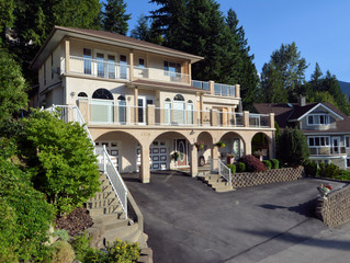 FOR SALE: Magnificent 4 Level Split Home with Panoramic Lake and Mountain Views in City of Nelson
