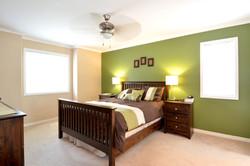 Master Bedroom: 12' x 14'