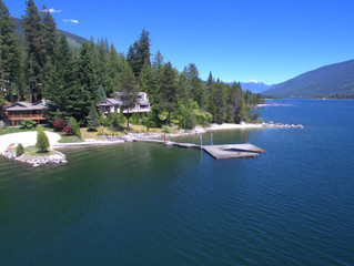 FOR SALE:  West Coast Contemporary Style Waterfront Home on Kootenay Lake