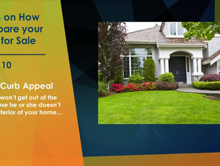 Tip No. 10 - How to Prepare Your Home for Sale