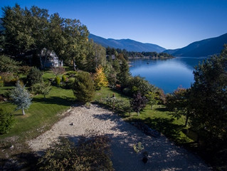 FOR SALE:  Waterfront Home With 275 Ft of Private Sandy Beach