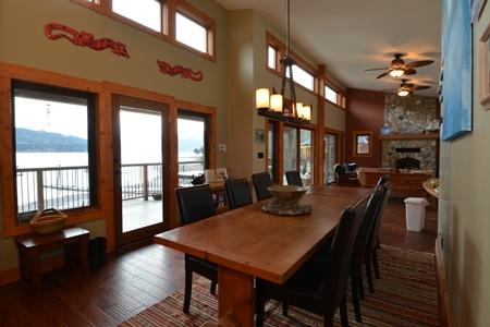 109 Kootenay Lake Road Dining Room