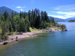 NEW LISTING: Prime Waterfront Building Lot in Kootenay Lake Village