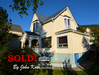 JUST SOLD!  516 Mill Street, Nelson, BC