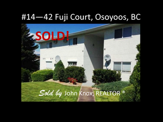 JUST SOLD - Another happy client!