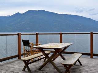 JUST LISTED!  Dramatic Waterfront Property on the East Shore of Kootenay Lake
