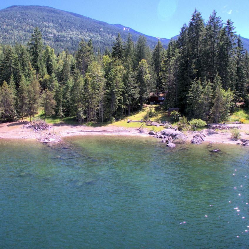 Lot 14 - 229 Kootenay Lake Road Aerial
