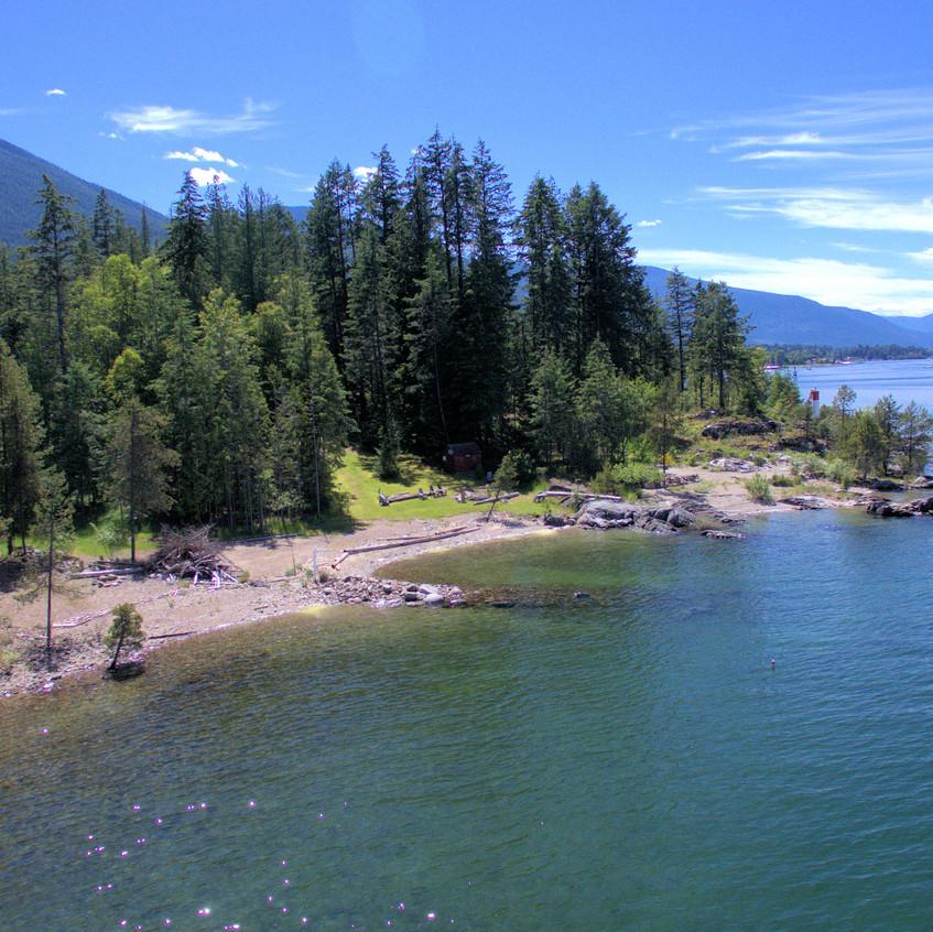 Lot 14 - 229 Kootenay Lake Road Aerial3