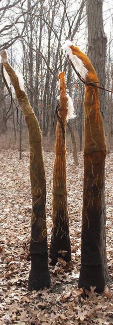 Tree Triptch