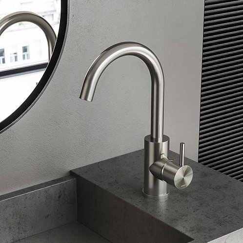 Archie - Washbasin Mixer with Swivel Spout
