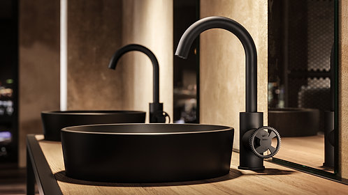 Cobber @ Work - Washbasin Mixer, with swivel spout