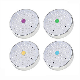 Challis AG+ coloured Shower heads