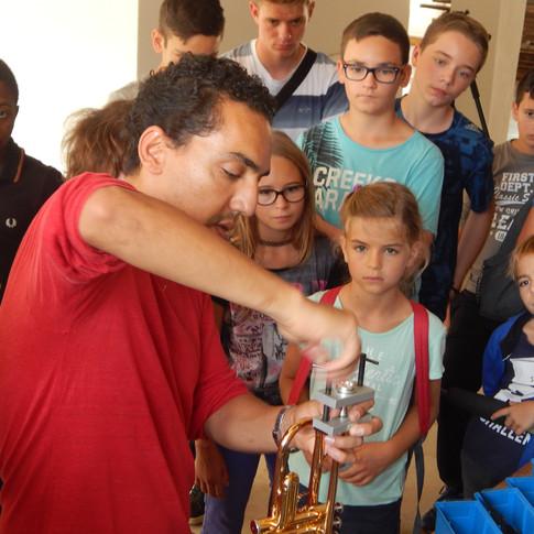 Intervention de Hafed Amri, technicien vents chez Arpèges Armand MEYER