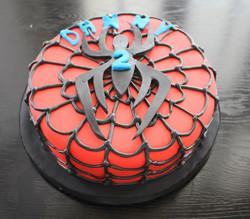 """Spidey cake"""