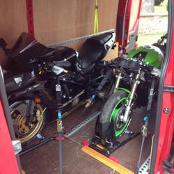 Trackday Motorbike Transport