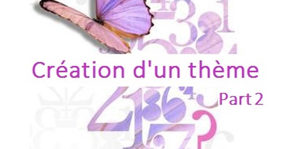 INITIATION : Création d'un thème numérologique _ Partie 2