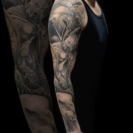 Chris_Hautundliebe_Tattoo_Krieger_Sleeve