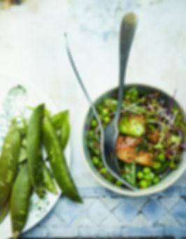 Salade-de-petits-pois-pois-gourmands-pam