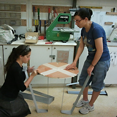 סדנאות המחלקה ללימודי עיצוב תעשייתי