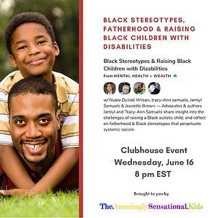 Black Fatherhood Clubhouse event.jpeg