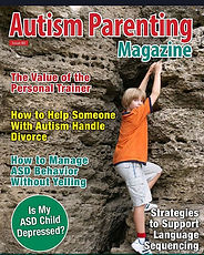 Cover of the October issue of _autismpar