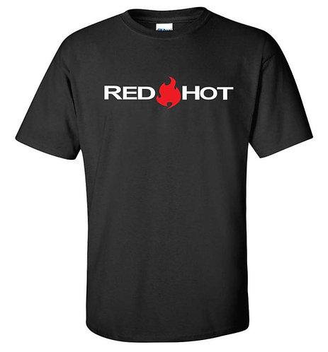 RED HOT Black T-Shirt