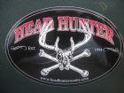 Headhunter Deer Skull Sticker