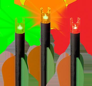 RED HOT Lumenok Lighted Crossbow Capture Nocks