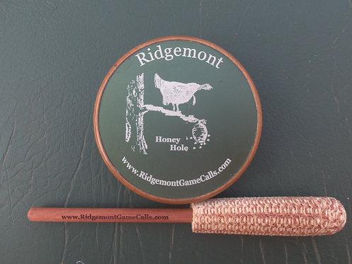 "Ridgemont ""Honey Hole"" Aluminum Turkey Call"