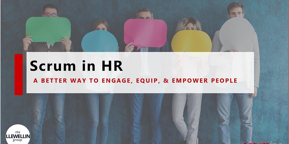 Scrum in HR Certification by Scrum Inc. - Feb. 25-26, 2021