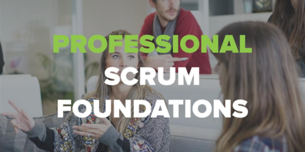 Professional Scrum Foundations Studio