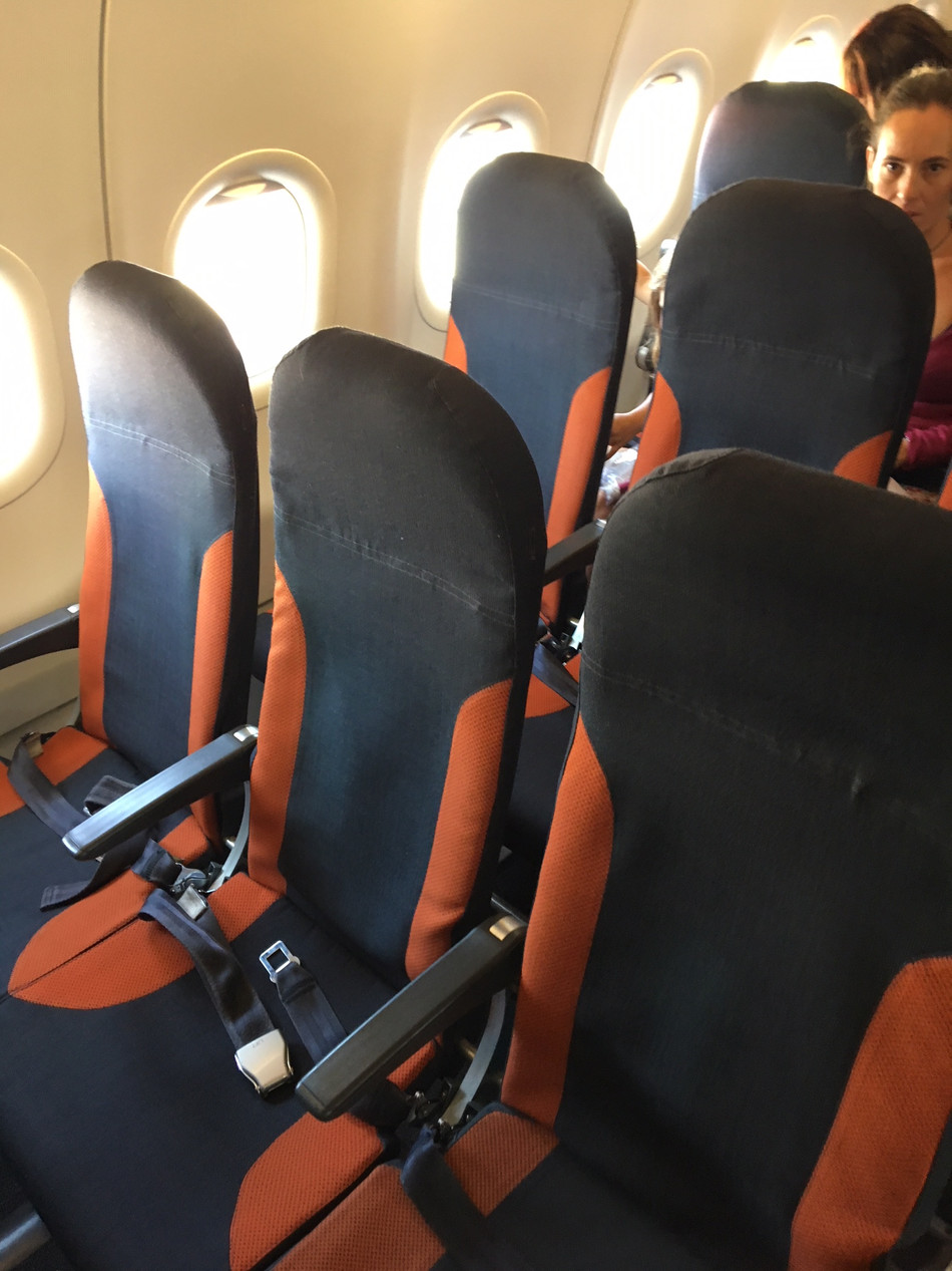 EasyJet A320 Economy Class NCE-GVA - You Get What You Paid For