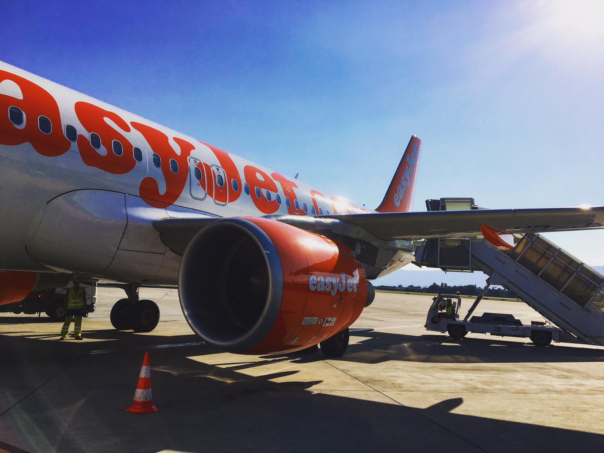 EasyJet A320 in GVA