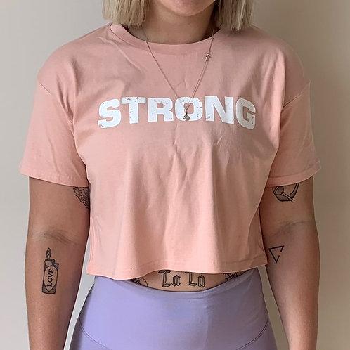 SG Pink Crop T-shirt