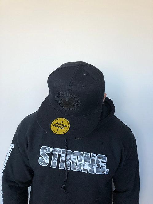 SG Snapback Black logo