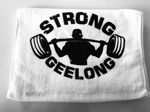 STRONG GEELONG Gym Towels